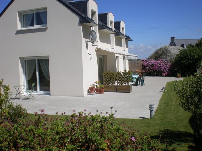 Villa pour 6 pers. avec parking privé, Kerlouan