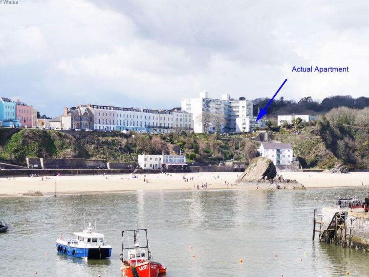 Location vacances Tenby -  Appartement - 2 personnes -  - Photo N° 1