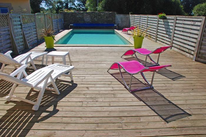 Location vacances Lannilis -  Maison - 6 personnes - Chaise longue - Photo N° 1