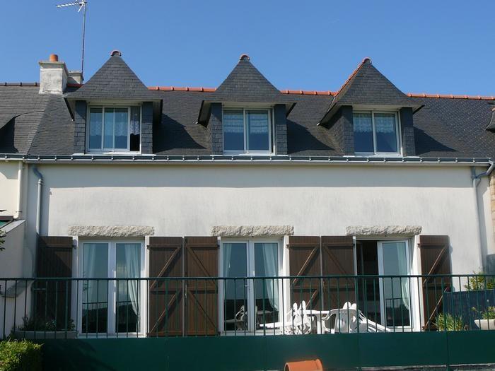 Maison , vue de la terrasse