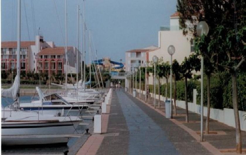 Appartement à Cap d'Agde dans l'Hérault en Languedoc-Roussillon à 10 minutes à pieds de la plage
