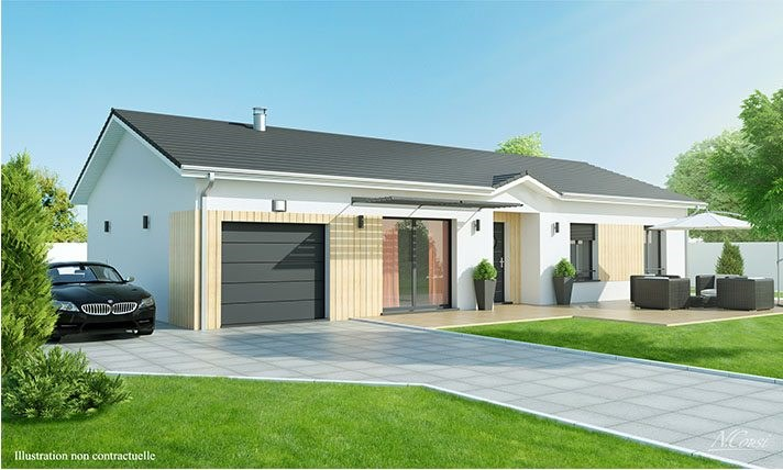 Maison  4 pièces + Terrain 1186 m² Brioude par LOGIVELAY