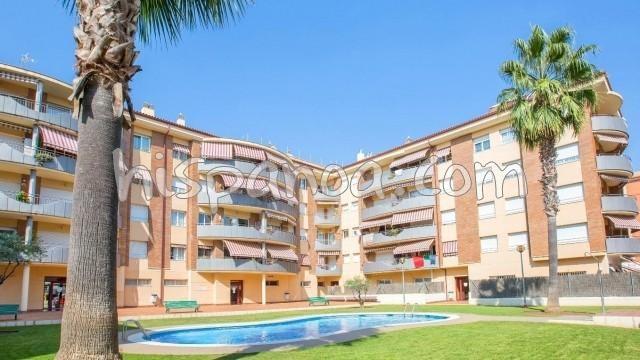 Location vacances Lloret de Mar -  Appartement - 6 personnes - Télévision - Photo N° 1