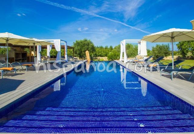 A louer grande villa pour 12/16 avec piscine privée à Manacor Iles Baléares |baixp