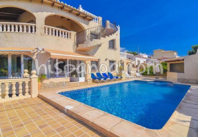 Location belle villa pour 10 avec piscine privée sur la Costa Blanca |cruz