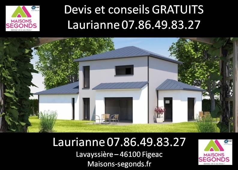 Maison  4 pièces + Terrain 1891 m² Felzins par MAISONS SEGONDS