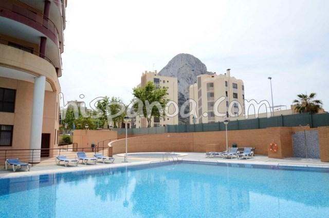 Location vacances Calp -  Appartement - 4 personnes - Salon de jardin - Photo N° 1