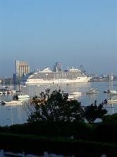 Vue sur la rade de Lorient