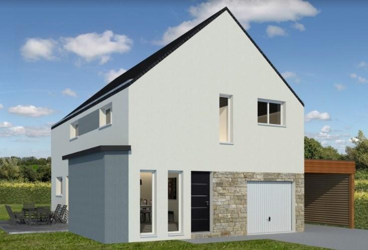 Maison  6 pièces + Terrain Saint-Meloir-des-Ondes par MAISONS DE L'AVENIR
