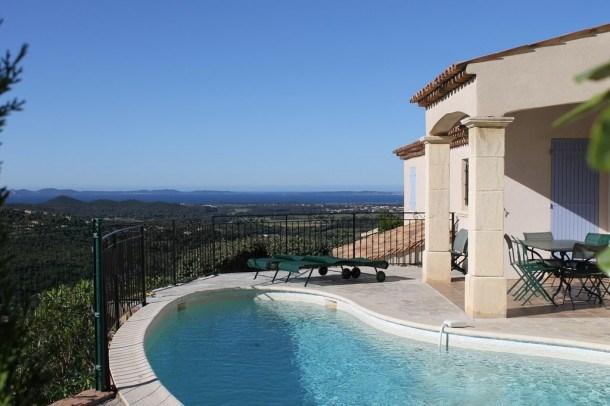 Villa 8 personnes avec piscine et vue mer