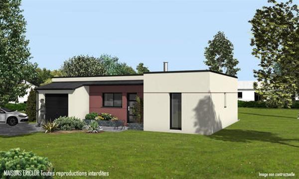 Maison  3 pièces + Terrain 4000 m² Mauprévoir par Maisons Ericlor