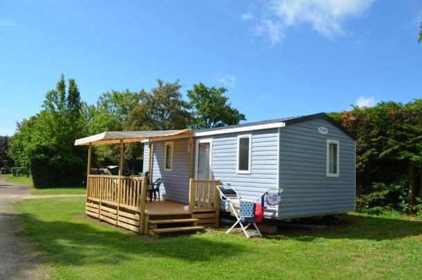 Camping Des Sources - Mobil-Home Super Mercure Access