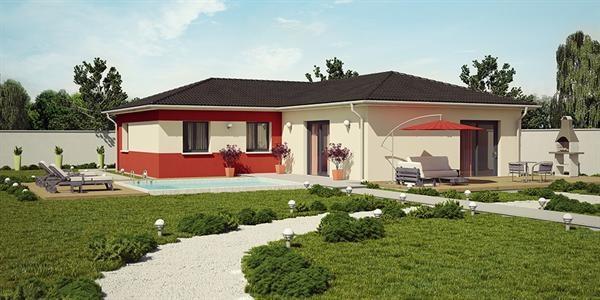 Maison  5 pièces + Terrain 1000 m² Saint Savin par DEMEURES CALADOISES