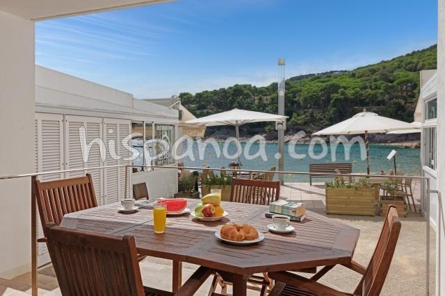 Location vacances Palafrugell -  Appartement - 8 personnes - Salon de jardin - Photo N° 1