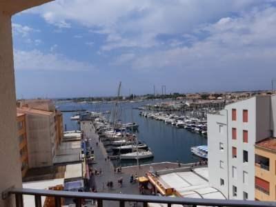 Alquileres de vacaciones Agde - Apartamento - 4 personas - Televisión - Foto N° 1
