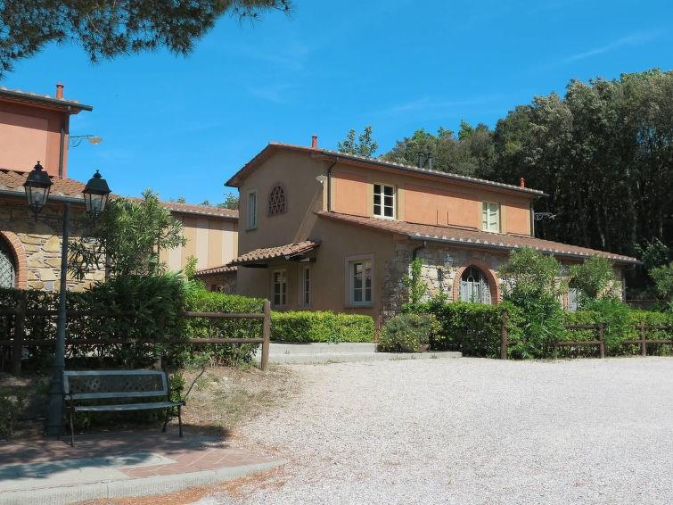 Appartement pour 2 personnes à Monteverdi Marittimo