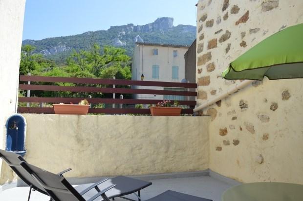 Gîte de charme, climatisé,  terrasse vue sur le chateau de Peyrepertuse, Aude Pays Cathare - Rouffiac-des-Corbières