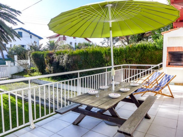 Location vacances Bidart -  Maison - 6 personnes - Barbecue - Photo N° 1