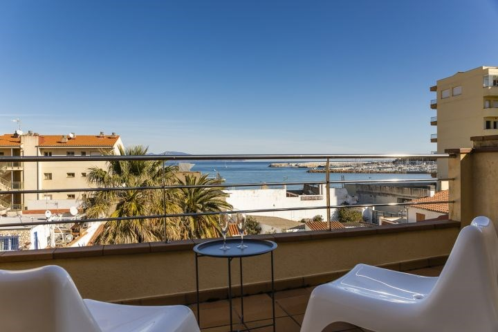Location vacances l'Escala -  Appartement - 8 personnes - Barbecue - Photo N° 1