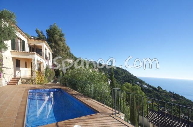 Location villa Costa Brava Begur belle vue mer   dpetm