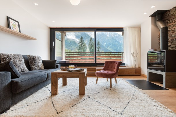Location vacances Chamonix-Mont-Blanc -  Appartement - 4 personnes - Ascenseur - Photo N° 1