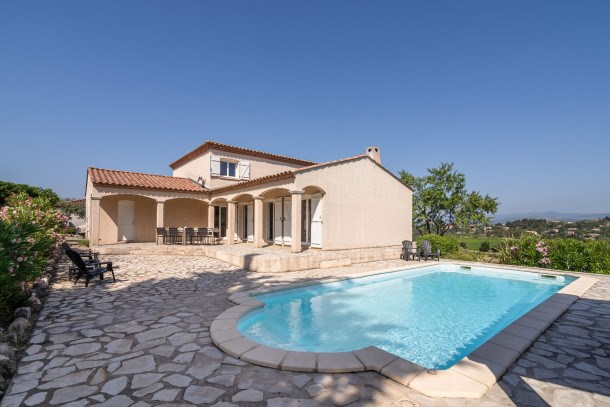 Location vacances Oupia -  Maison - 8 personnes - Barbecue - Photo N° 1