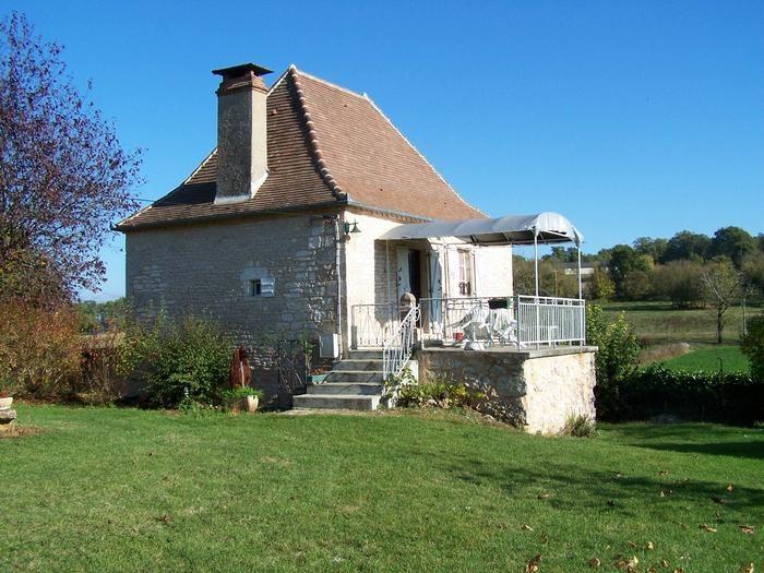 maison quercynoise avec parc arboré de 2500 m2