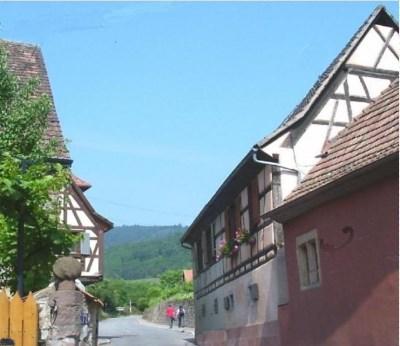 Location vacances Niedermorschwihr -  Gite - 4 personnes - Barbecue - Photo N° 1