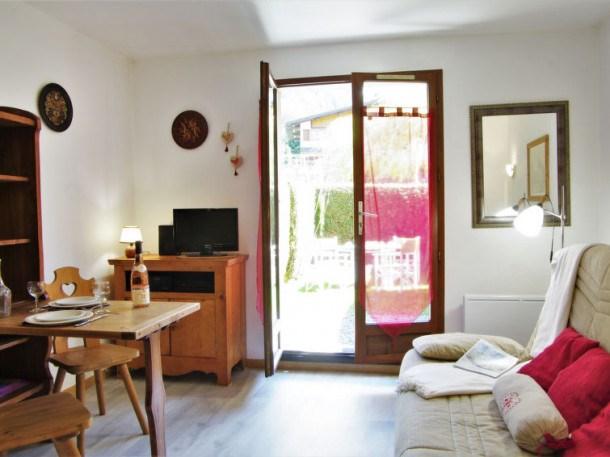 Location vacances Les Houches -  Appartement - 3 personnes - Télévision - Photo N° 1