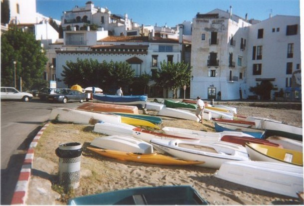 First line beach house in the Middle of Cadaques