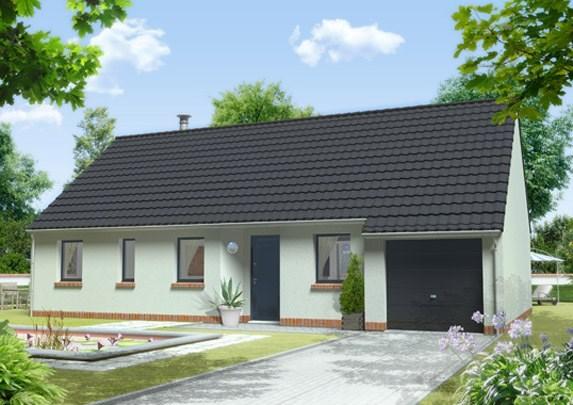 Maison  4 pièces + Terrain 700 m² Fayet par Maison Familiale Saint Quentin