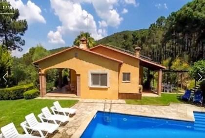 Location vacances Santa Cristina d'Aro -  Maison - 8 personnes - Télévision - Photo N° 1