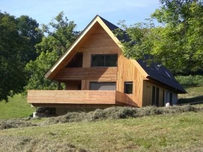 Ampio chalet moderno con terrazzo - Egliseneuve d'Entraigues