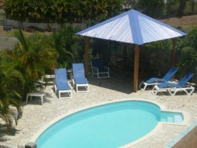 A150m de la plage: PROMOS STUDIOS AVRIL 250€/semaine, T2 avec spa,T3 duplex recommandés par le routard. - Sainte Anne
