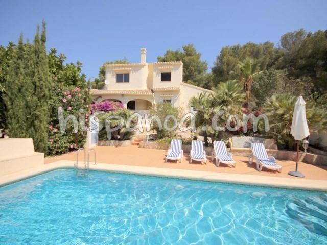 House for 10 ppl. with pool, Jávea/Xàbia