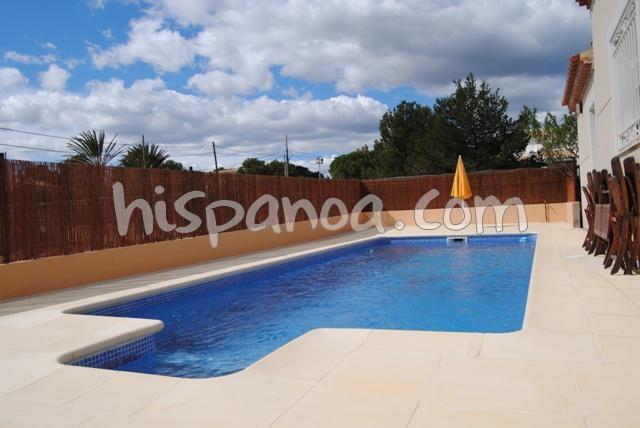 Location villa avec piscine privée bord de mer à Ametlla  leo
