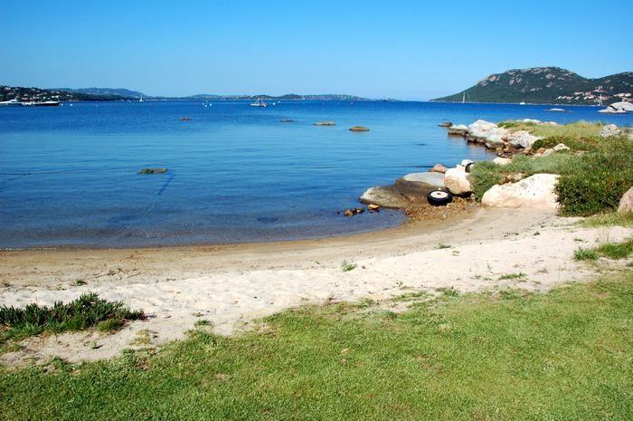 Petite plage privative