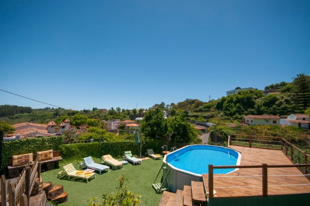 Location vacances Valleseco -  Maison - 3 personnes - Barbecue - Photo N° 1