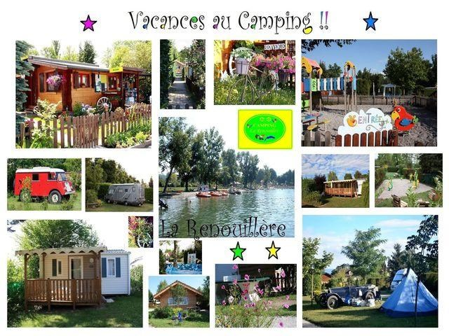 Carte Postale du Camping