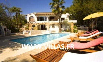 Location vacances Altea -  Maison - 10 personnes - Barbecue - Photo N° 1