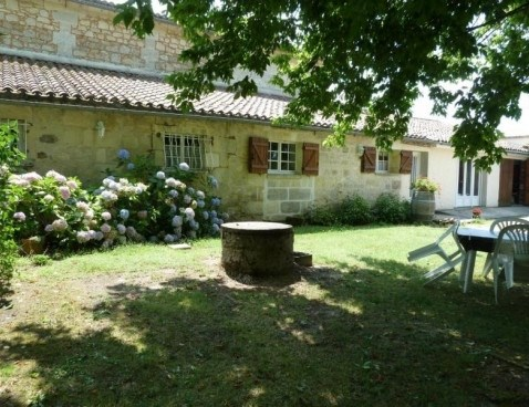 Location vacances Tizac-de-Lapouyade -  Maison - 3 personnes - Barbecue - Photo N° 1