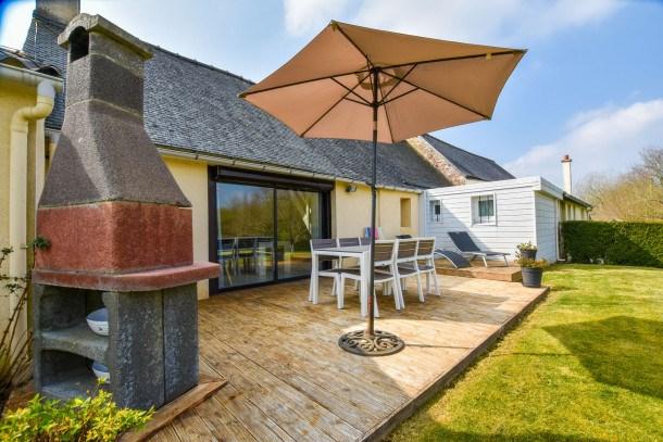 Location vacances Tréglamus -  Maison - 5 personnes - Barbecue - Photo N° 1