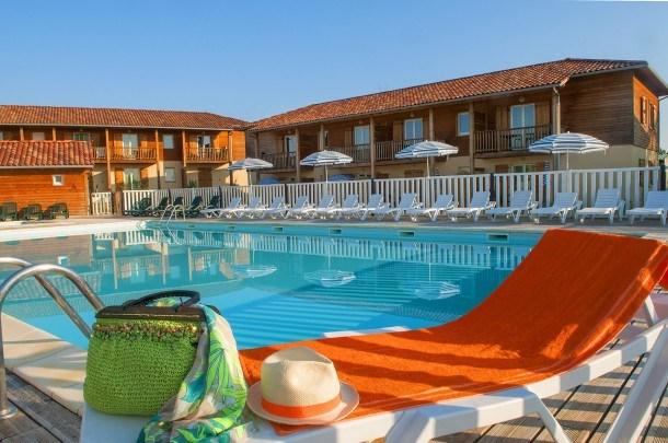 Résidence du Golf d'Armagnac - Villa 3 pièces 4/6 pers duplex - sans piscine
