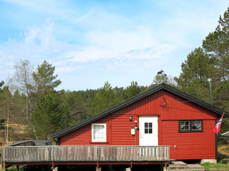 Maison pour 6 à Fjellestad