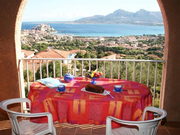Location vacances Calvi -  Appartement - 6 personnes - Barbecue - Photo N° 1
