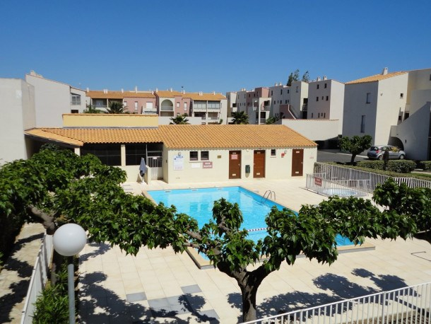 Location vacances Agde -  Appartement - 4 personnes - Terrasse - Photo N° 1