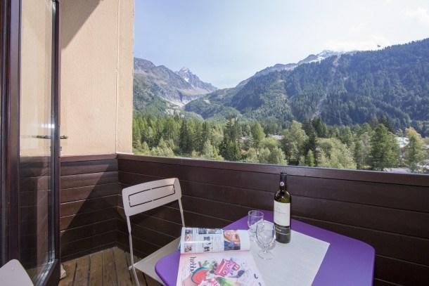 Location vacances Chamonix-Mont-Blanc -  Appartement - 6 personnes - Barbecue - Photo N° 1