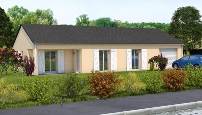Maison  4 pièces + Terrain 849 m² Saint-Jean-Delnous par MAISONS LES GLORIETTES
