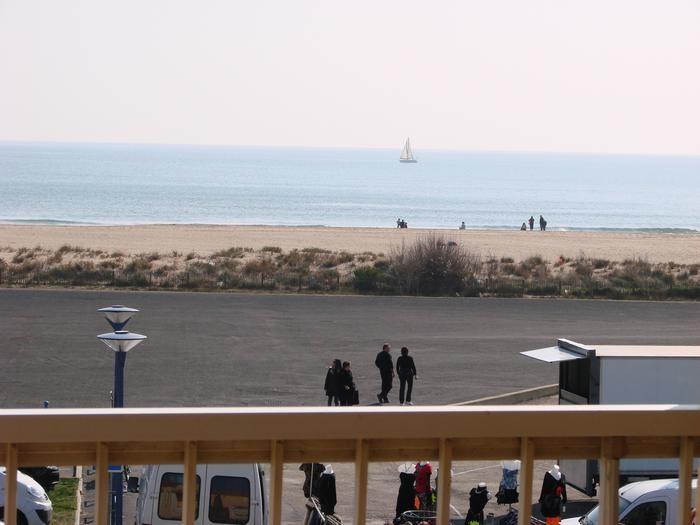 Appartement lumineux face la mer pour 7 personnes)
