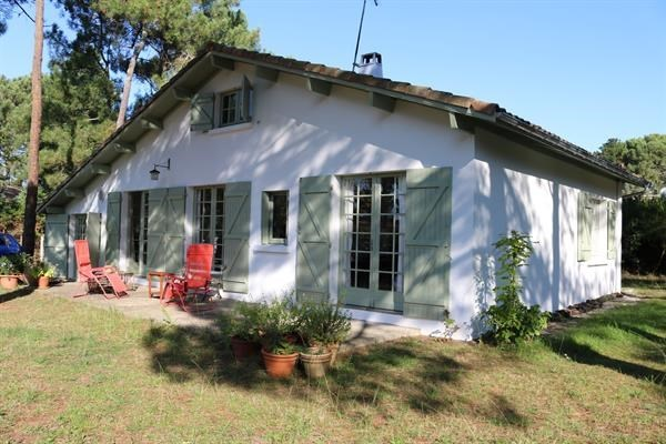 Location vacances Biscarrosse -  Maison - 8 personnes - Terrasse - Photo N° 1